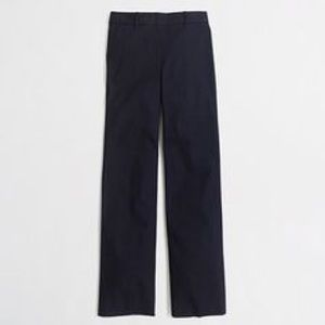 JCREW Addison Black Chino Pants